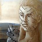 Cruciverbiani, olio su cartone, cm 40x50, 2012