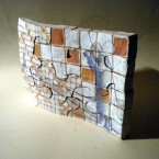 Enigmisti, terracotta policroma, h cm 18, 2013